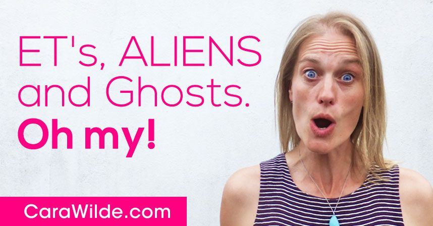 E.T's, Aliens and Ghost's oh my!
