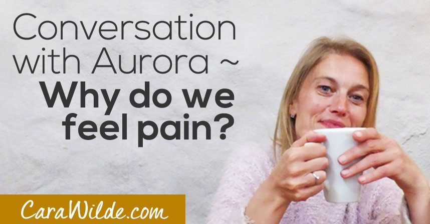 Conversations with Aurora ~ Why do we have pain?