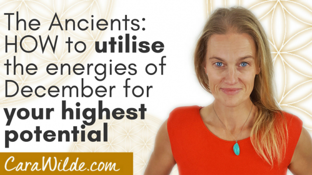 The Ancients~Utilising the energies of December