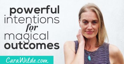 Powerful intentions for magical outcomes