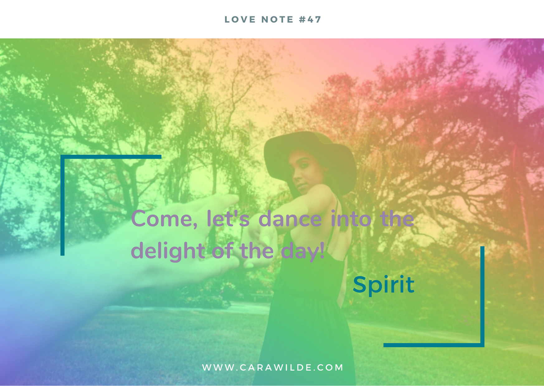 Love Note#47 How to experience more joy and meaning in your day