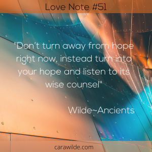 Love Note#51 The Gift of Hope
