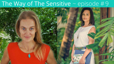 Episode 9 Interview the Guide Series Antonina Andreeva - The way of the Sensitive Podcast - CaraWilde.com